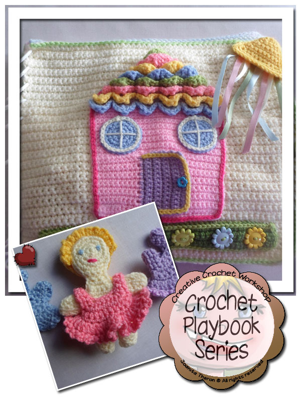 My Crochet Dollhouse Playbook Introduction | Free Crochet Pattern | Creative Crochet Workshop @creativecrochetworkshop #ccwdollhouseplaybookcrochetalong
