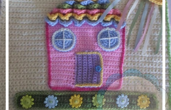 Crochet Dollhouse Front Page|Creative Crochet Workshop