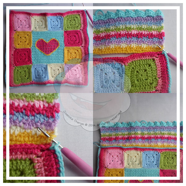 Scrapalicious Cushion Part Three - A Free Crochet Along | Creative Crochet Workshop #ccwscrapaliciouscushion #crochetalong #scrapsofyarn