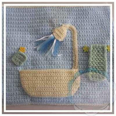 Crochet Dollhouse Bathroom Page Creative Crochet Workshop