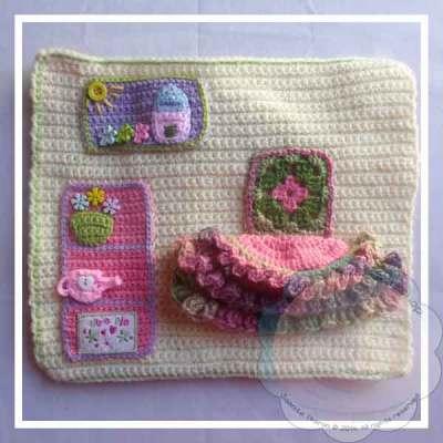 Crochet Dollhouse Diningroom Page|Creative Crochet Workshop
