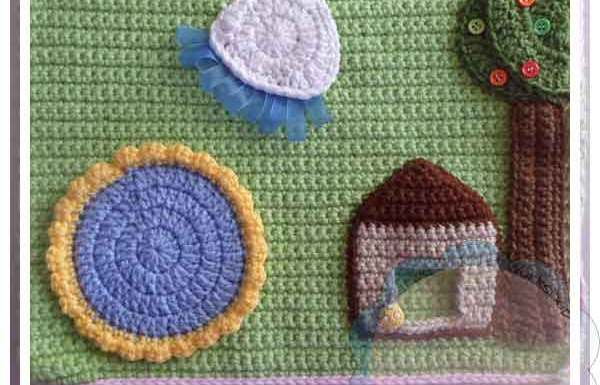 Crochet Dollhouse Backyard Page|Creative Crochet Workshop