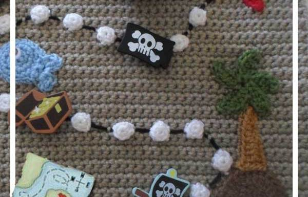 Crochet Pirate Playbook Pirate Map|Creative Crochet Workshop