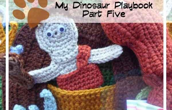 Crochet Dinosaur Playbook Part Five|Creative Crochet Workshop