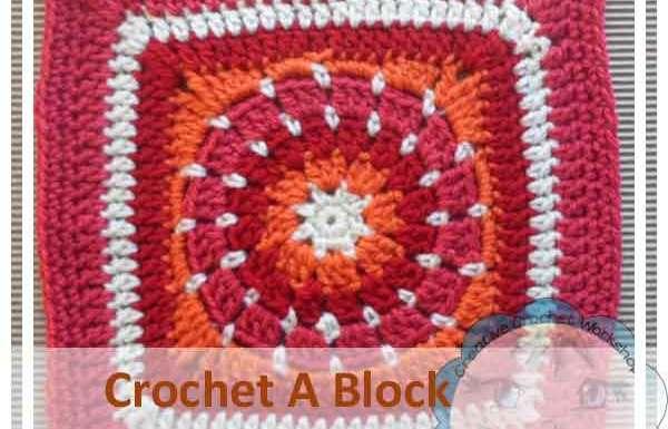Alternative Circle In A Square|Creative Crochet Workshop