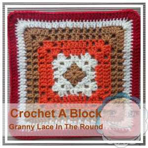 Granny Lace In The Round|Creative Crochet Workshop