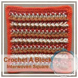 Interwoven Square|Creative Crochet Workshop
