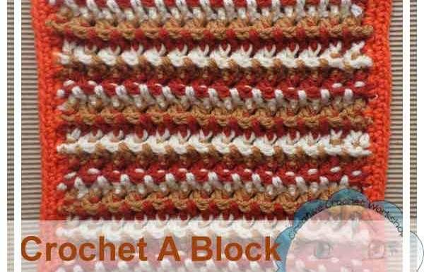 Interwoven Square|Creative Crochet Workshop