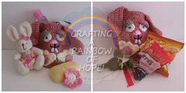 Crafting A Rainbow Of Hope|Bunny Gift Pocket Boy And Girl|Creative Crochet Workshop