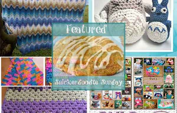 Snickerdoodle Sunday Features Linky Party #132|Creative Crochet Workshop