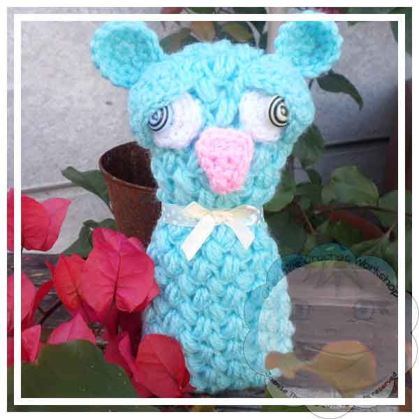 BUBBLES BLUE MOUSE|CRAFTING A RAINBOW OF HOPE|CREATIVE CROCHET WORKSHOP