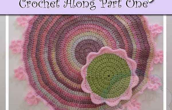 FLOWER GARDEN TEA SET CROCHET ALONG PART ONE|CREATIVE CROCHET WORKSHOP