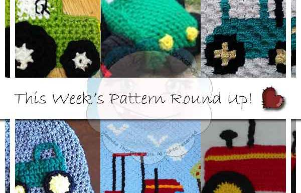 FARM TRACTOR MINI ROUND UP|CREATIVE CROCHET WORKSHOP