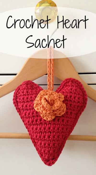 CROCHET HEART SACHET|SNICKERDOODLE SUNDAY FEATURE|CREATIVE CROCHET WORKSHOP