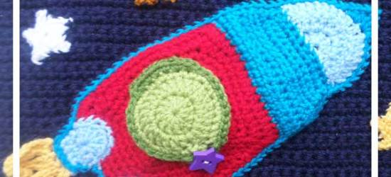 MY CROCHET OUT IN SPACE PLAYBOOK PART ONE|CREATIVE CROCHET WORKSHOP