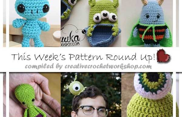 ALIEN PATTERN ROUND UP|AUGUST 2016|CREATIVE CROCHET WORKSHOP