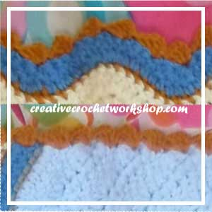 LITTLE SAILOR SET PART THREE|OCEAN BLANKET BORDER|CREATIVE CROCHET WORKSHOP