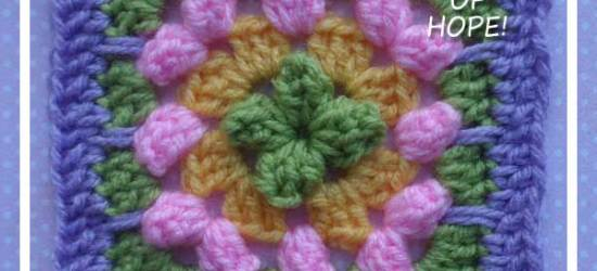 Granny Popcorn Medley|Crafting A Rainbow Of Hope|Creative Crochet Workshop