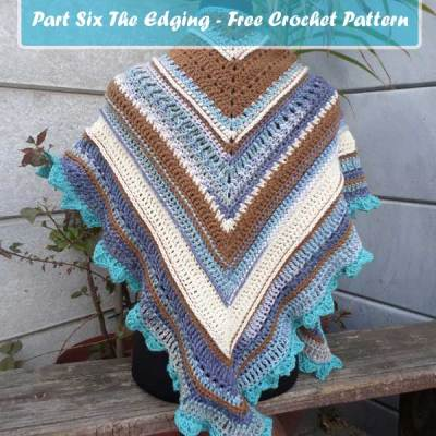 FALL SHAWL MCAL 2016 – Part Six The Edging