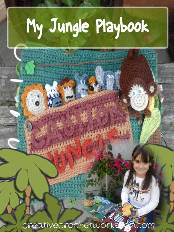 MY CROCHET JUNGLE PLAYBOOK INTRODUCTION | CREATIVE CROCHET WORKSHOP