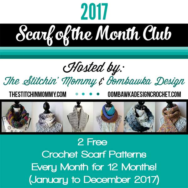 Scarf Club 2017 Contributions | Creative Crochet Worlshop