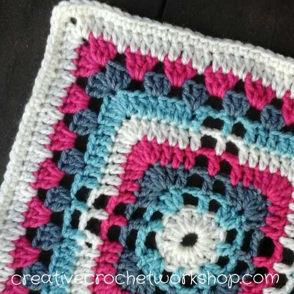 Lacy Granny Cross Square Creative Crochet Workshop
