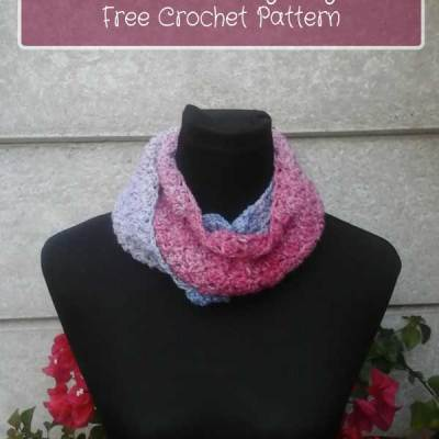 MIXED BERRIES ANYWAY COWL