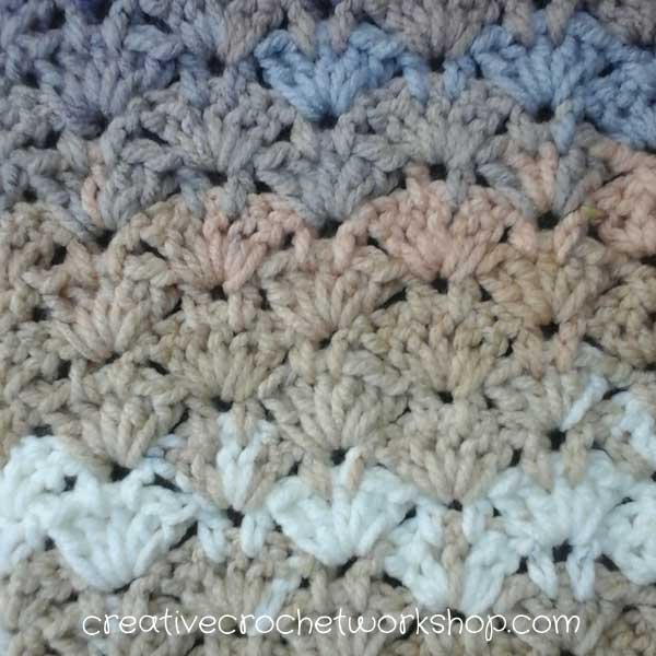 Beachy Sands Cowl - Free Crochet Pattern | Stitch Pattern | Creative Crochet Workshop