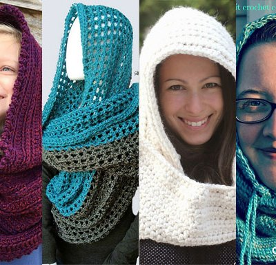 GORGEOUS HOODED COWLS – Pattern Round Up
