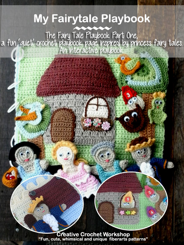 My Crochet Fairy Tale Playbook | Free Crochet Along | Creative Crochet Workshop @creativecrochetworkshop
