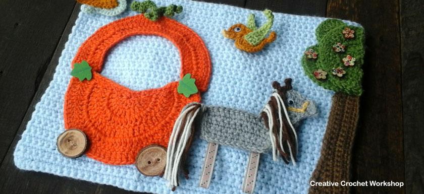 My Fairy Tale Playbook Part Five | Free Crochet Pattern | Creative Crochet Workshop @creativecrochetworkshop #ccwfairytaleplaybook