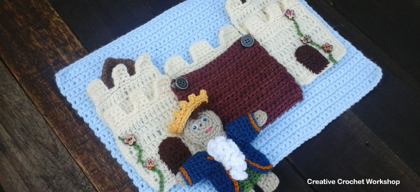 My Fairy Tale Playbook Part Four | Free Crochet Pattern | Creative Crochet Workshop @creativecrochetworkshop #ccwfairytaleplaybook