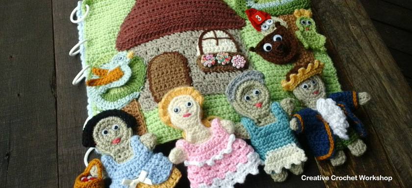 My Fairy Tale Playbook Part Six | Free Crochet Pattern | Creative Crochet Workshop @creativecrochetworkshop #ccwfairytaleplaybook