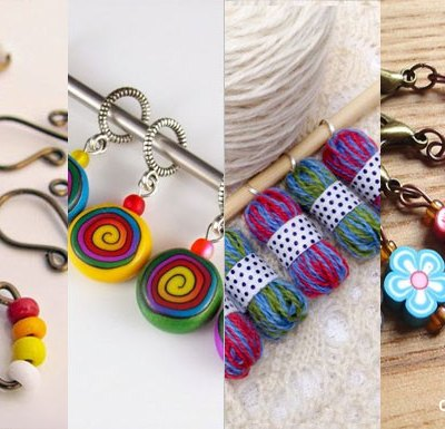 Creative Stitch Markers - Tips & Cool Ideas | Creative Crochet Workshop @creativecrochetworkshop