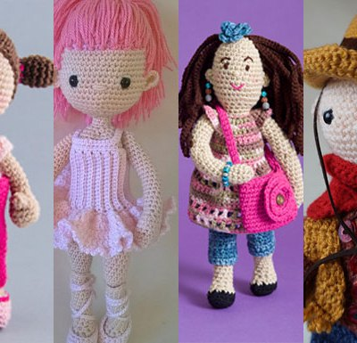 Cute Doll Friends – Pattern Finds Round Up