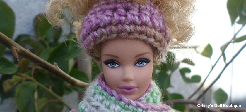 Easy Messy Bun Hat | Cherry's Boutique | Crissy's Doll Boutique @crissysdollboutique