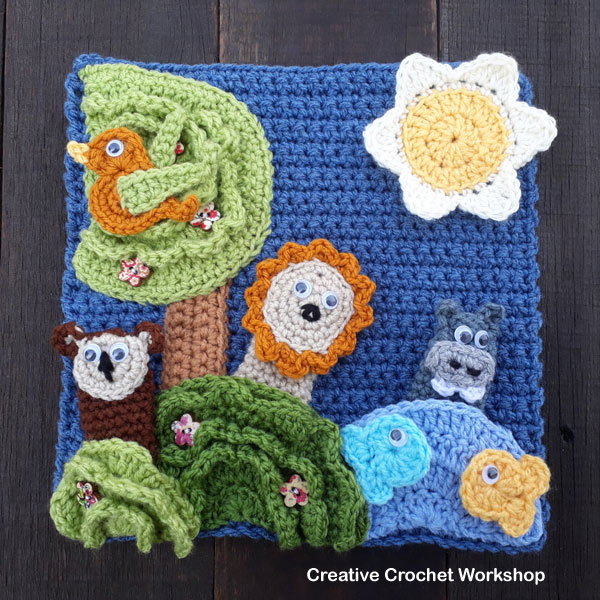 My Bible Stories Playbook Part One | Free Crochet Pattern | Creative Crochet Workshop @creativecrochetworkshop #ccwbiblestoriescrochetalong