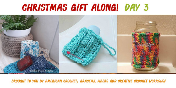 Creative Crochet Workshop | American Crochet | Graceful Fibers #ChristmasGiftAlong2017