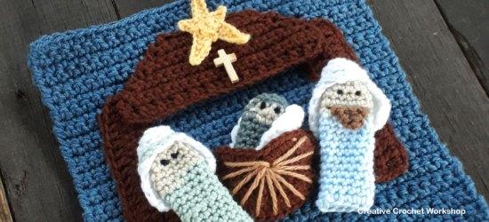 My Bible Stories Playbook Part Ten   Free Crochet Pattern   Creative Crochet Workshop @creativecrochetworkshop #ccwbiblestoriescrochetalong