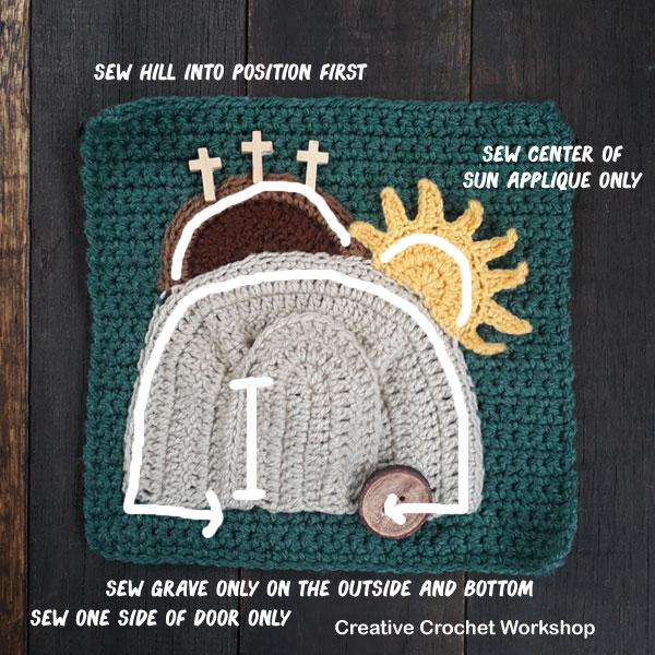 My Bible Stories Playbook Part Twelve   Free Crochet Pattern   Creative Crochet Workshop @creativecrochetworkshop #ccwbiblestoriescrochetalong