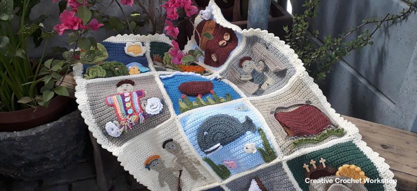My Bible Stories Playbook Final   Free Crochet Pattern   Creative Crochet Workshop @creativecrochetworkshop #ccwbiblestoriescrochetalong
