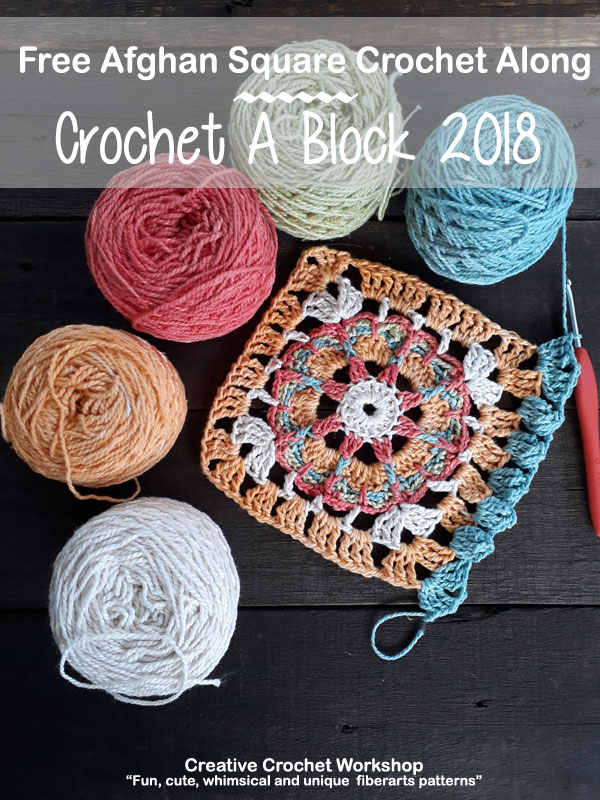 Crochet A Block Afghan 2018 Creative Crochet Workshop