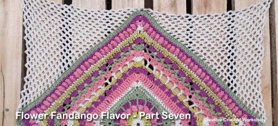 Flower Fandango Flavor Part Seven - Free Crochet Pattern | Creative Crochet Workshop | #ccwflowerfandangoflavor #crochetalong #crochet @creativecrochetworkshop