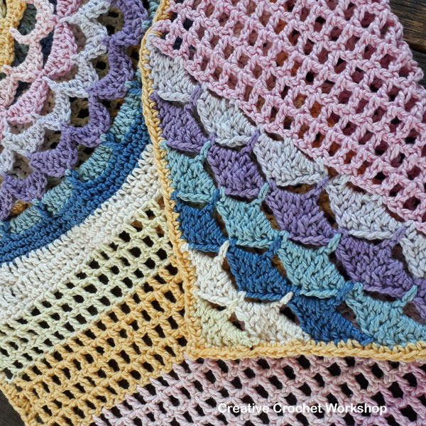 Bohemia Valley Cal Part Four | Creative Crochet Workshop #ccwbohemiacrochetalong #crochetalong #freecrochetpattern #crochet @creativecrochetworkshop
