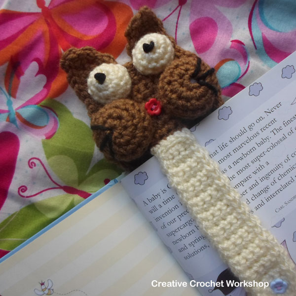 Crochet cat bookmark pattern projects 22 ideas | 600x600