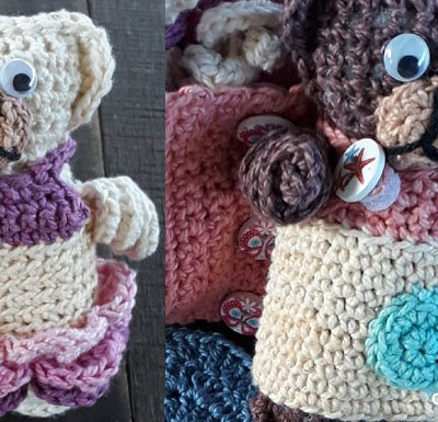 FOLD UP TEDDY CROCHET PLAY SET ACCESSORIES PART ONE