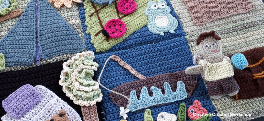 My Crochet Camping Playbook Introduction | Free Crochet Pattern | Creative Crochet Workshop @creativecrochetworkshop #ccwcampingplaybookcrochetalong