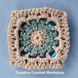 Scrapsadelic Groovy Blanket Part Six - Free Crochet Along | Creative Crochet Workshop #ccwscrapsadelicgroovyblanket #crochetalong #scrapsofyarn