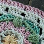 Lily Pond Square - Free Crochet Pattern | Creative Crochet Workshop #freecrochetpattern #crochet #crochetsquare