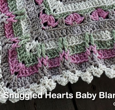 Snuggled Hearts Baby Blanket Part Six | Creative Crochet Workshop @creativecrochetworkshop #crochetalong #grannysquare #afghansquare #crochetbabyblanket #ccwsnuggledheartsblanket #madewithheart